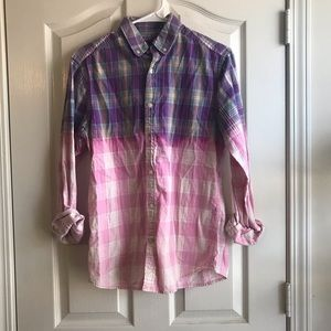 🍀2/$20 Gap Ombré Button Down Size Small